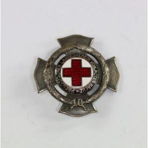 Preußen, Ehrenzeichen des Preußischen Landesvereins vom Roten Kreuz 10 Jahre, Hst. Godet