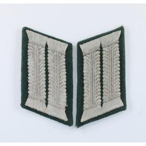 Wehrmacht Heer, Paar Kragenspiegel für Offiziere im Generalstab (i.G.)
