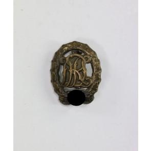 16-MM Miniatur Reichssportabzeichen in Bronze, Hst. Wernstein