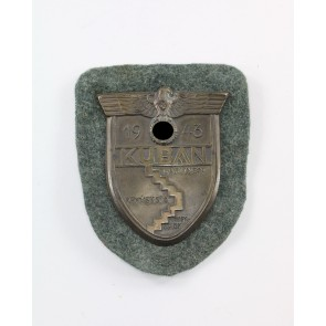 Kubanschild auf Heeresstoff, Typ 5.5