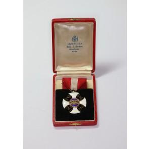 Italien, Ritterkreuz der Krone Italiens, im Etui