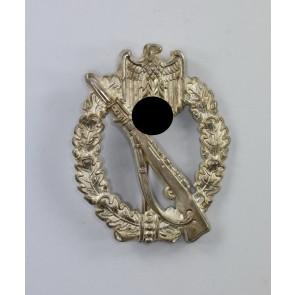 Infanterie-Sturmabzeichen in Silber, Deumer, Buntmetall