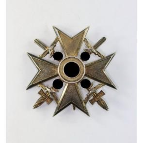 Spanienkreuz in Gold mit Schwertern, 900, Alfred Mantwitz
