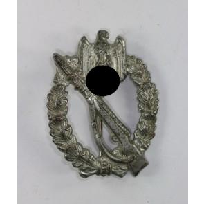 Infanterie-Sturmabzeichen in Silber, S.H.u.Co., Eisen (!)