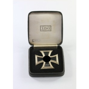 Eisernes Kreuz 1. Klasse 1939, Hst. L/11, im LDO Etui L/11