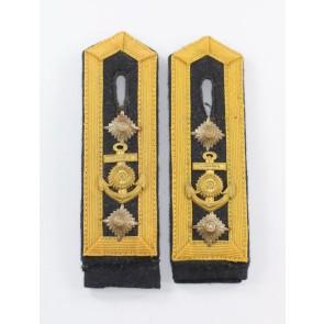 Kriegsmarine, Paar Schulterklappen Obermaschinist