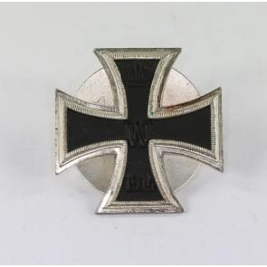 Eisernes Kreuz 1. Klasse 1914, Schickle, einteilig, an Schraubscheibe