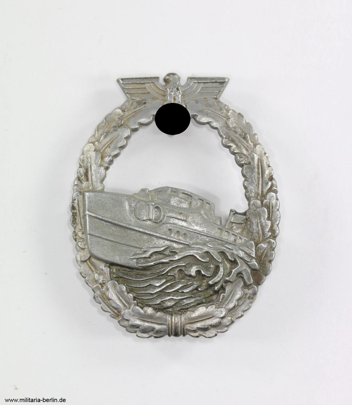 Schnellbootkriegsabzeichen-Vorderseite