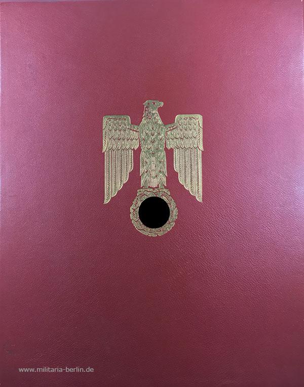 Ritterkreuz-Urkunde: Mappe