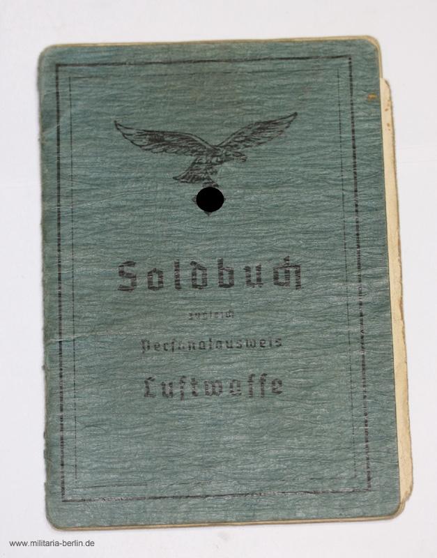 Soldbuch, Luftwaffe, außen