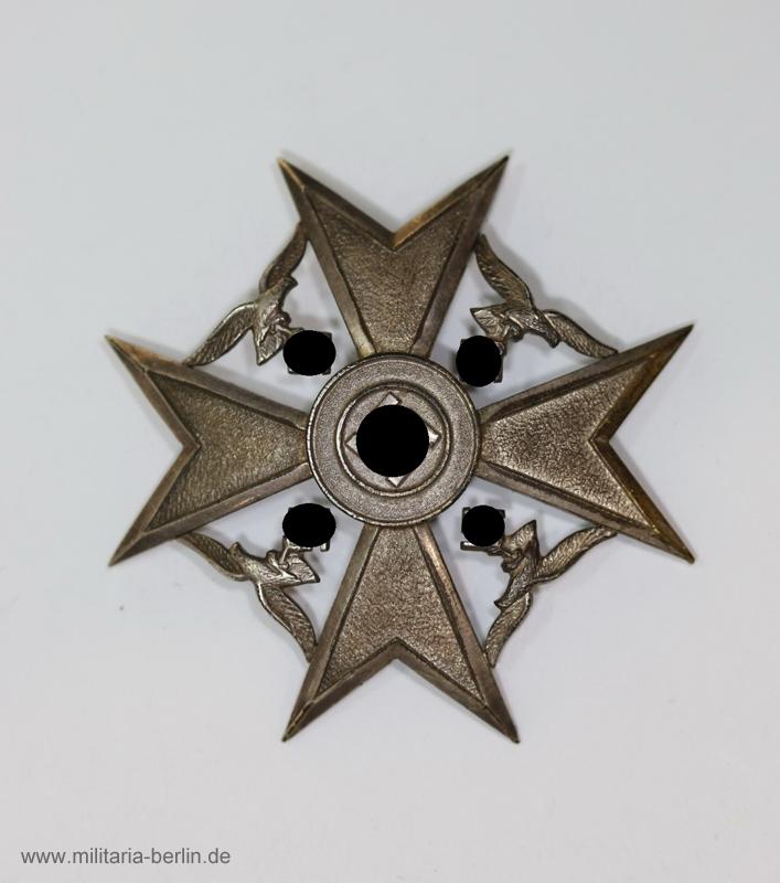 Spanienkreuz Silber ohne Schwert