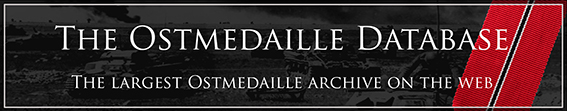 Ostmedaille Database