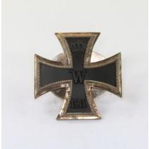 Eisernes Kreuz 1. Klasse 1914, Mutter und Scheibe (!), Hst. Godet Berlin (!)