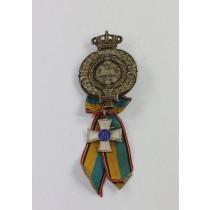 Abzeichen, Braunschweig Landwehr Verband, 25 Jahre Mitgliedschaft