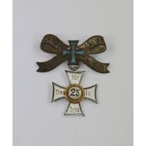 Abzeichen, Gothaer Landes Kriegerverein für Treue im Verein 25