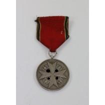 Deutsche Verdienstmedaille in Silber, Hst. PR. Münze Berlin, (Frakturschrift)