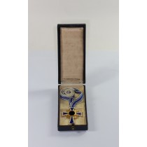 Ehrenkreuz der Mutter in Gold, im Etui C.F. Zimmermann