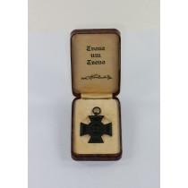 Ehrenkreuz für Hinterbliebende, im Etui - Treue um Treue