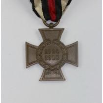 Ehrenkreuz für Kriegsteilnehmer, Hst. W.D. und Bienen Logo