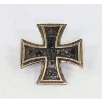 Eisernes Kreuz 1. Klasse 1914, an Schraube und Mutter (Umbau)