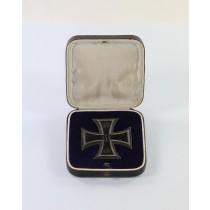 Eisernes Kreuz 1. Klasse 1914, Hst. WS, im frühen Etui