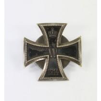Eisernes Kreuz 1. Klasse 1914, Carl Dillenius , an Scheibe und Mutter, Quadrat Punze