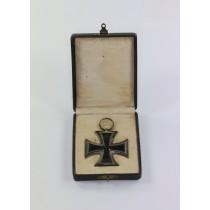 Eisernes Kreuz 2. Klasse 1914, Hst. ED im Etui