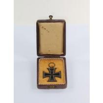 Eisernes Kreuz 2. Klasse 1914, Hst. WS, im Etui