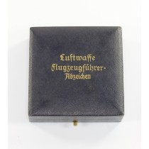 Etui Luftwaffe Flugzeugführer Abzeichen