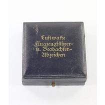 Frühes Etui, Luftwaffe Flugzeugführer- u. Beobachterabzeichen (Doppelabzeichen)