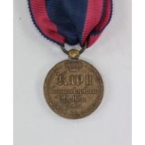 Hessen-Kassel, Kriegsdenkmünze 1814-1815 für Kämpfer