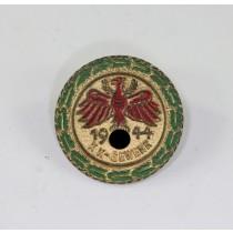 Standschützen Tirol, Gaumeister in Gold mit Eichenlaub KK-Gewehr 1944 (Klein)