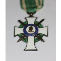 Sachsen, Albrechtsorden Ritterkreuz 1.Klasse mit Schwerter, Oberst Erich Poser
