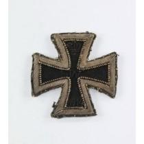 Eisernes Kreuz 1. Klasse 1914, gestickte Variante (!)