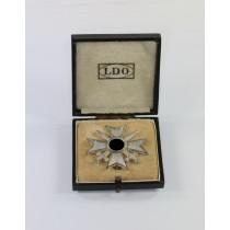 Kriegsverdienstkreuz 1. Klasse mit Schwertern, Hst. 3, im LDO Etui