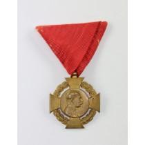 Österreich, Militär Erinnerungskreuz 60. Regierungsjubiläum Franz Josef I