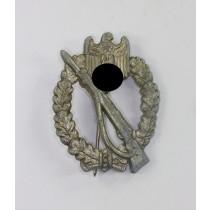 Infanterie Sturmabzeichen in Silber, Hst. W.H. (Wilhelm Hobacher)