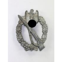 Infanterie Sturmabzeichen in Silber, Hst. W.H. (Wilhelm Hobacher, Wien)