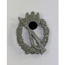 Infanterie Sturmabzeichen in Silber, Pillow Crimp