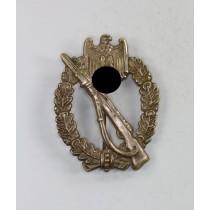 Infanterie Sturmabzeichen in Silber, Schickle, Buntmetall