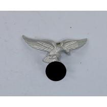 Luftwaffe, Adler für die Schirmmütze Aluminium