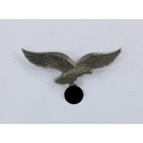 Luftwaffe, Adler für die Schirmmütze Neusilber