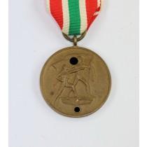 Memellandmedaille, Zur Erinnerung an die Heimkehr des Memellandes 22. März 1939
