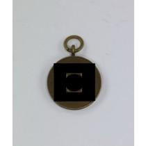 16 MM Miniatur SS Dienstauszeichnung 8 Jahre, für die Miniatur Kette
