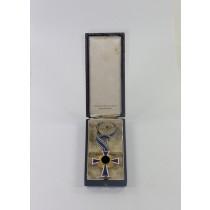 Mutterkreuz in Gold, im Etui, Franz Reischauer Oberstein
