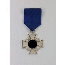 Treudienstehrenzeichen in Silber (25 Jahre), Für Treue Dienste