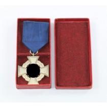 Treudienstehrenzeichen in Silber (25 Jahre), Für Treue Dienste, im Etui