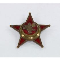 Osmanisches Reich, Eisernes Halbmond (Stern von Gallipoli), Hst. BB&Co. bronzierte (!) Variante