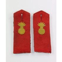 Preußen, 1. Weltkrieg, Paar Schulterklappen Mannschaft im Feldartillerie