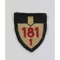 Reichsarbeitsdienst (RAD), Abteilungsabzeichen 181 1
